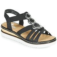 Zapatos Mujer Sandalias Rieker FANNI Azul