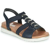 Zapatos Mujer Sandalias Rieker NINNA Azul