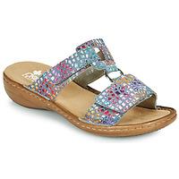 Zapatos Mujer Zuecos (Mules) Rieker FOUNNA Multicolor