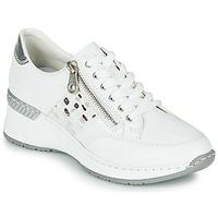Zapatos Mujer Zapatillas bajas Rieker GRAMI Blanco