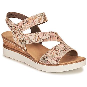 Zapatos Mujer Sandalias Rieker CASSIE Multicolor