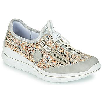 Zapatos Mujer Zapatillas bajas Rieker GRISSA Gris / Multicolor