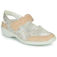 Zapatos Mujer Sandalias Rieker ALINA Plata