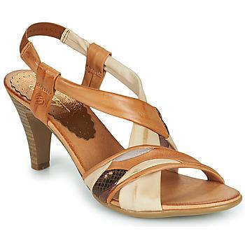 Zapatos Mujer Sandalias Betty London POULOI Cognac