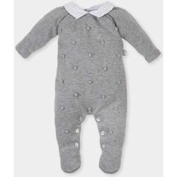 textil Niña Monos / Petos Tutto Piccolo Pelele tricot m/larga Gris