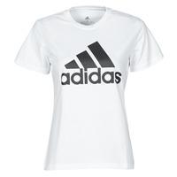textil Mujer Camisetas manga corta adidas Performance W BL T Blanco