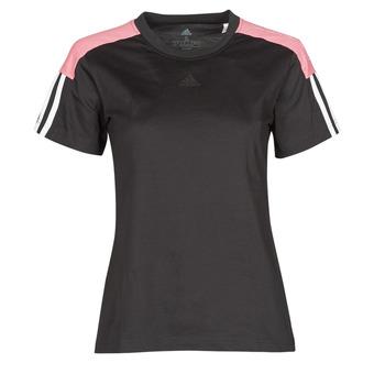 textil Mujer Camisetas manga corta adidas Performance W CB LIN T Negro
