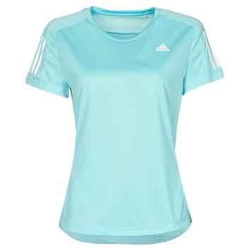 textil Mujer Camisetas manga corta adidas Performance OWN THE RUN TEE Azul