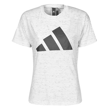 textil Mujer Camisetas manga corta adidas Performance W WIN 2.0 TEE Blanco