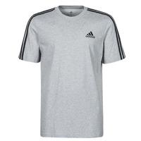 textil Hombre Camisetas manga corta adidas Performance M 3S SJ T Gris