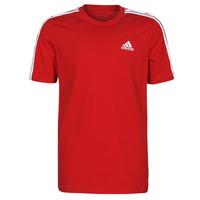 textil Hombre Camisetas manga corta adidas Performance M 3S SJ T Rojo