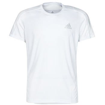 textil Hombre Camisetas manga corta adidas Performance OWN THE RUN TEE Blanco