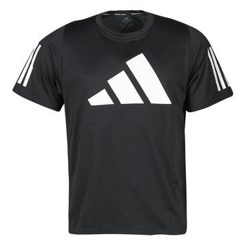 textil Hombre Camisetas manga corta adidas Performance FL 3 BAR TEE Negro