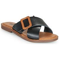 Zapatos Mujer Zuecos (Mules) Refresh TRAFFA Negro