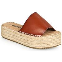 Zapatos Mujer Zuecos (Mules) Refresh ETINNA Camel