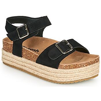 Zapatos Mujer Sandalias Refresh KINNA Negro