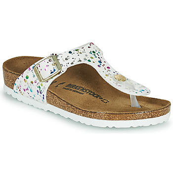 Zapatos Niña Chanclas Birkenstock GIZEH Blanco