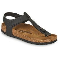 Zapatos Niños Chanclas Birkenstock KAIRO HL Negro