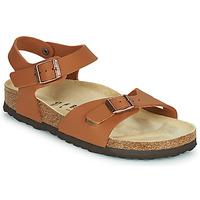 Zapatos Niña Sandalias Birkenstock RIO Marrón