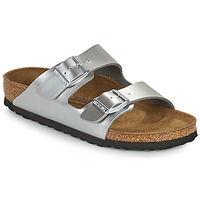 Zapatos Niña Zuecos (Mules) Birkenstock ARIZONA Plata