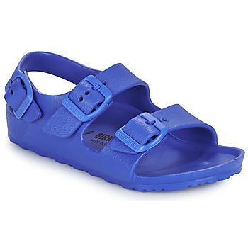 Zapatos Niño Sandalias Birkenstock MILANO EVA Azul