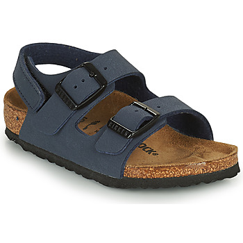 Zapatos Niño Sandalias Birkenstock MILANO HL Azul