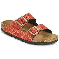 Zapatos Mujer Zuecos (Mules) Birkenstock ARIZONA Rojo