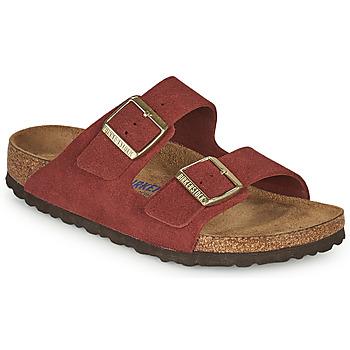 Zapatos Mujer Zuecos (Mules) Birkenstock ARIZONA SFB Rojo