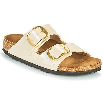 Zapatos Mujer Zuecos (Mules) Birkenstock ARIZONA BIG BUCKLE Blanco
