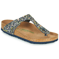 Zapatos Mujer Chanclas Birkenstock GIZEH Azul