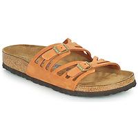 Zapatos Mujer Zuecos (Mules) Birkenstock GRANADA SFB Naranja