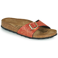 Zapatos Mujer Zuecos (Mules) Birkenstock MADRID Rojo / Oro