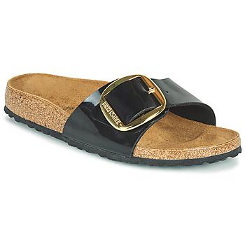 Zapatos Mujer Zuecos (Mules) Birkenstock MADRID BIG BUCKLE Negro