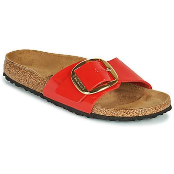 Zapatos Mujer Zuecos (Mules) Birkenstock MADRID BIG BUCKLE Rojo