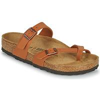 Zapatos Mujer Zuecos (Mules) Birkenstock MAYARI Marrón