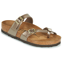 Zapatos Mujer Zuecos (Mules) Birkenstock MAYARI Oro