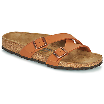 Zapatos Mujer Zuecos (Mules) Birkenstock YAO BALANCE Marrón