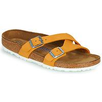 Zapatos Mujer Zuecos (Mules) Birkenstock YAO BALANCE SFB Naranja