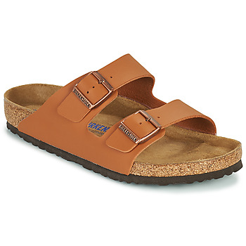 Zapatos Hombre Zuecos (Mules) Birkenstock ARIZONA SFB Marrón