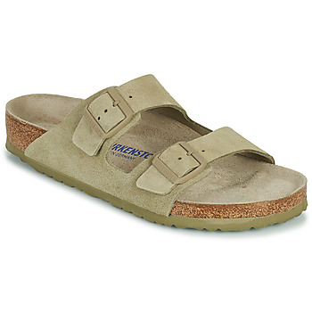 Zapatos Hombre Zuecos (Mules) Birkenstock ARIZONA SFB Kaki