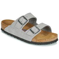 Zapatos Hombre Zuecos (Mules) Birkenstock ARIZONA SFB Gris