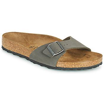 Zapatos Hombre Zuecos (Mules) Birkenstock MADRID Gris
