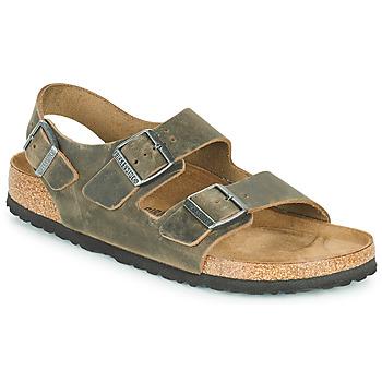 Zapatos Hombre Sandalias Birkenstock MILANO Kaki