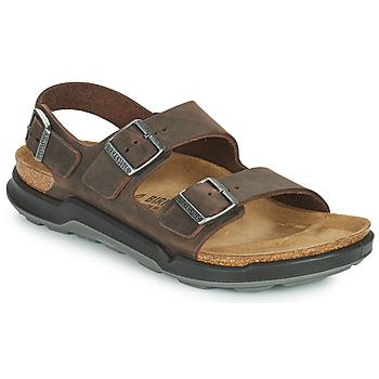 Zapatos Hombre Sandalias Birkenstock MILANO CT Marrón
