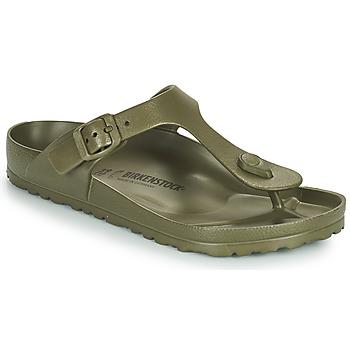 Zapatos Mujer Chanclas Birkenstock GIZEH EVA Kaki
