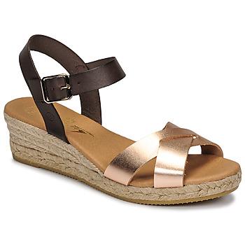 Zapatos Mujer Sandalias Betty London GIORGIA Marrón / Nude