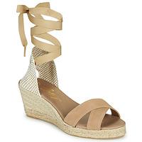 Zapatos Mujer Sandalias Betty London IDILE Beige