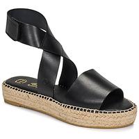Zapatos Mujer Sandalias Betty London EBALUIE Negro