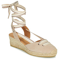 Zapatos Mujer Sandalias Betty London OJORD Beige