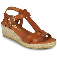 Zapatos Mujer Sandalias Betty London OBORSEL Cognac